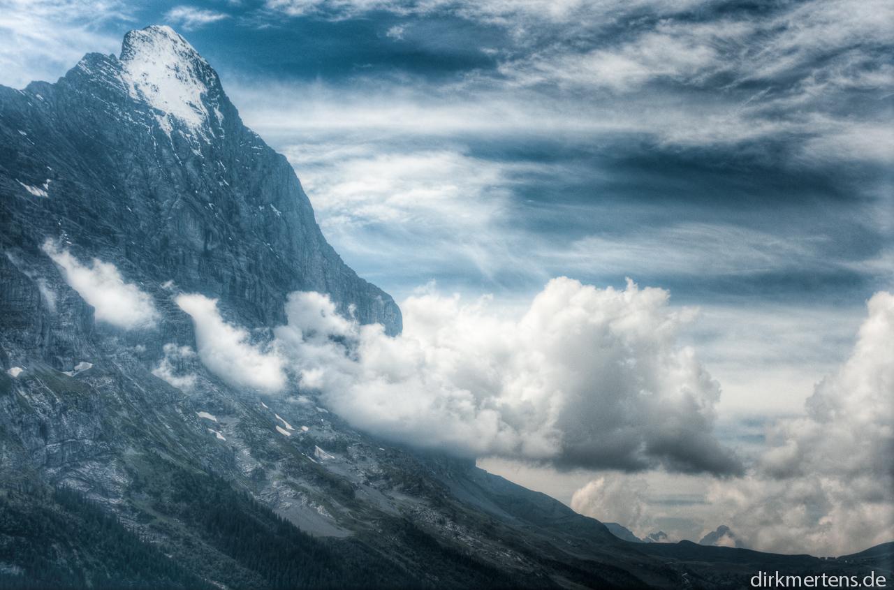 Eiger und Kleine Scheidegg