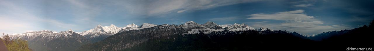Panorama von Beatenberg aus