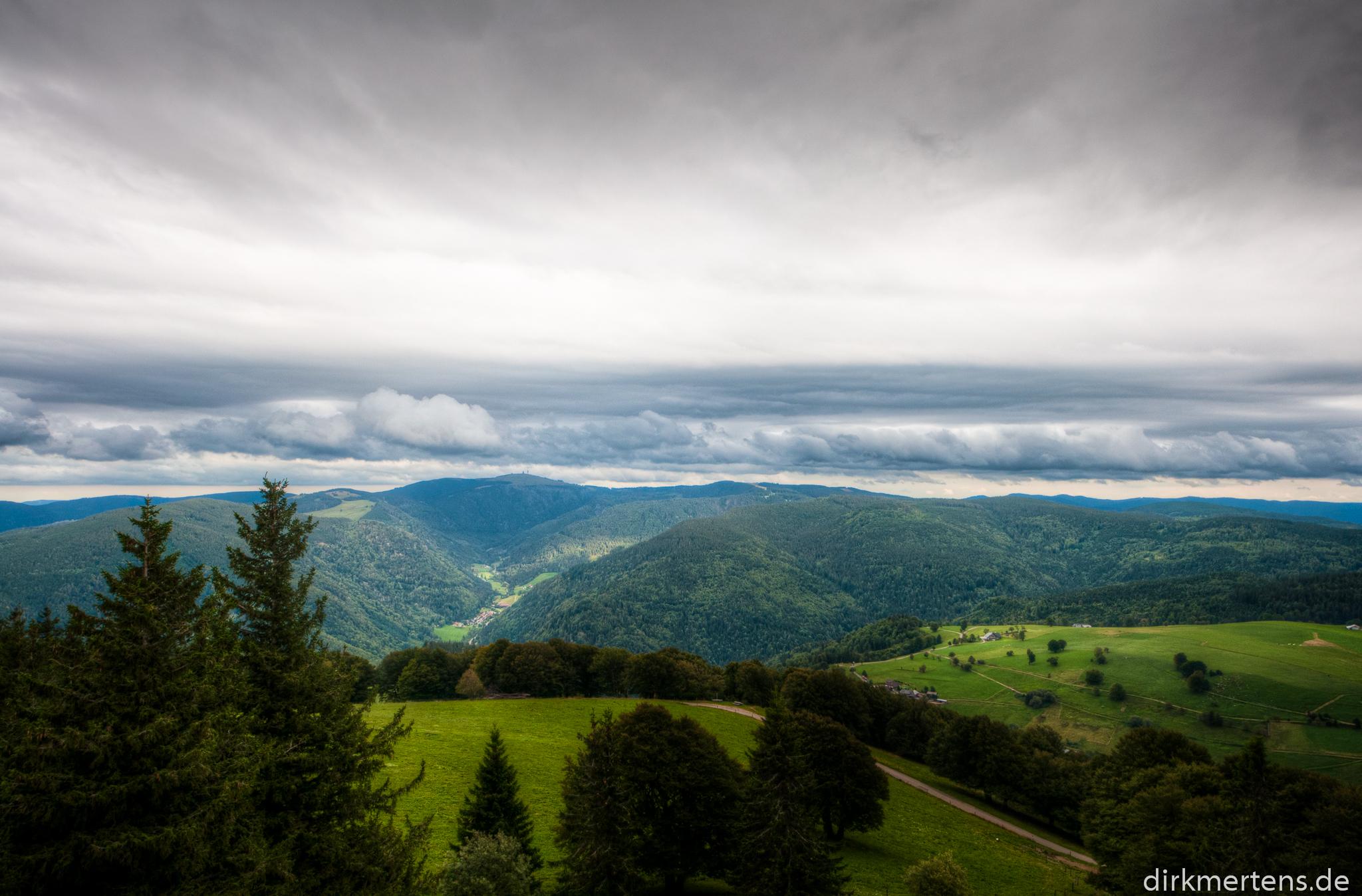 Schauinsland Richtung Feldberg