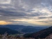 Blicke von der Schwarzwald Hochstrasse