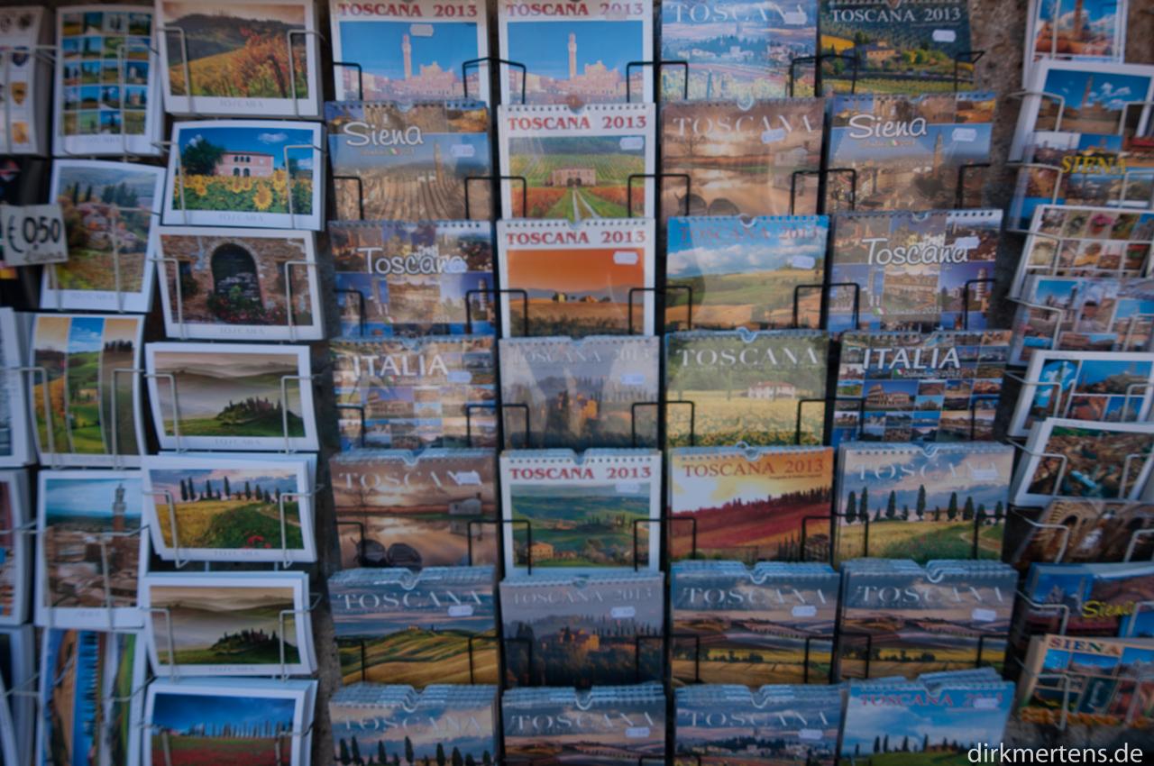Siena, Cards