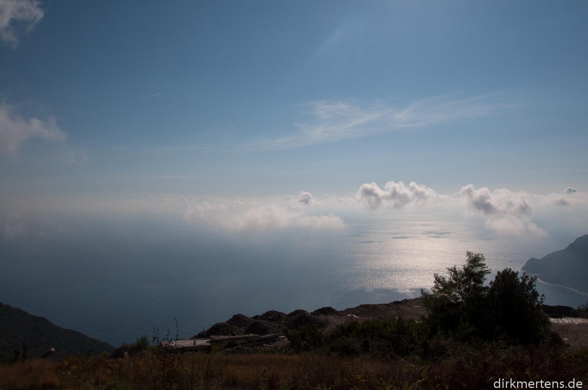 500m oberhalb von Cinque Terre
