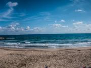 Am Strand von Andora