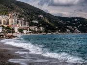 Am Strand von Spotorno