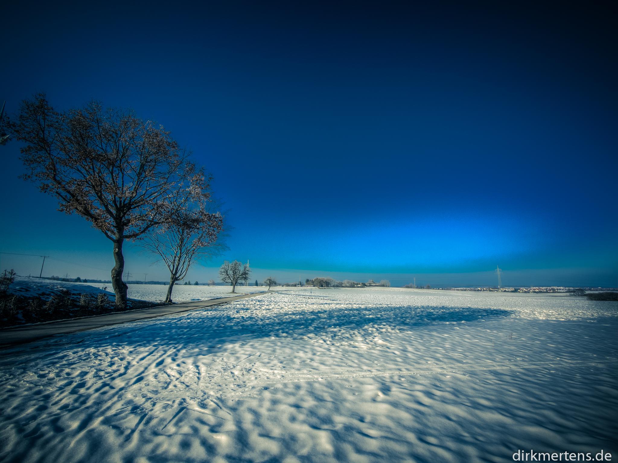 Magic snow lights
