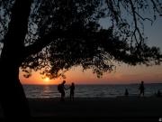 Sonnenuntergang bei Zadar