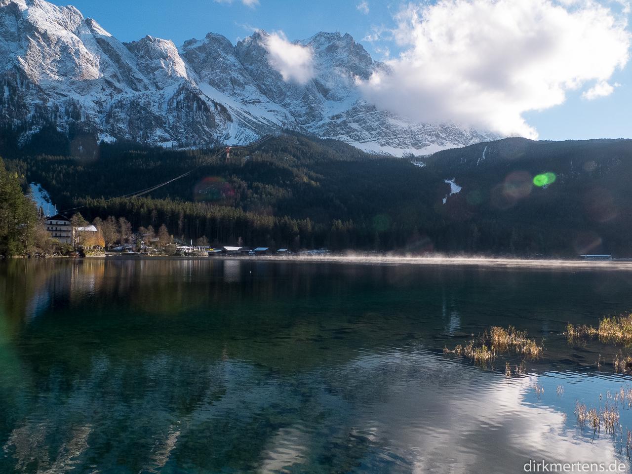 Eibsee, Zugspitze / Deutschland